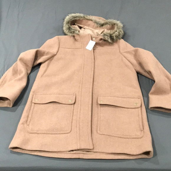 ac83e11c7 J Crew Factory - Vail Parka in hunter saddle NWT